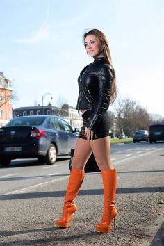 NSFW OVER 18 ONLY images of Julie Sky high aka Julie Jodar the Belgium sex goddess. and a very beautiful young woman. Thigh High Boots, High Heel Boots, Knee Boots, Heeled Boots, High Heels, Stiletto Boots, Sexy Boots, Sexy Heels, Sexy Outfits