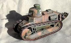 RMP 1/35 scale Renault FT-17 - The 1/35 scale Renault FT-17 is an RPM kit of the French tank that in 1918 became the first driven into combat by Americans in World War I.
