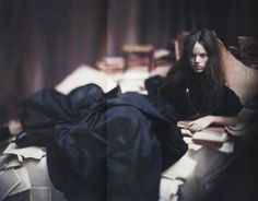 """The Terrier and Lobster: """"A Woman of a Singular Charm"""": Freja Beha Erichsen by Paolo Roversi for Vogue Italia"""