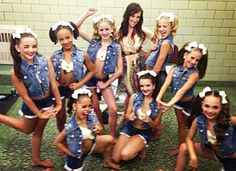 """Brooke, paige, nia, kendall, asia, chloe, MacKenzie, maddie, and Gia in group dance """"country cuties"""""""