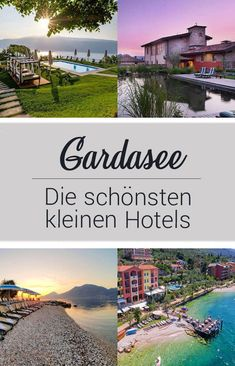 Holiday in the Garda Lake - the most beautiful small hotels we have stayed in the Garda . Reisen In Europa, Italy Holidays, Lake Garda, Beautiful Hotels, Amalfi Coast, Italy Travel, Continents, How To Be Outgoing, Travel Destinations