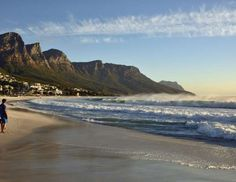 Beach of Camps Bay, Cape Town, Western Cape, South Africa - imageBROKER/REX