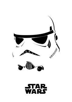 Tribute to star wars character, minimalist poster vector inspiration   Joseph W Prathista