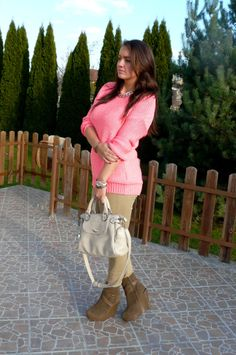 My favourite pink sweater