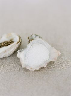 oyster salt and pepper cellars | photo buffy dekmar
