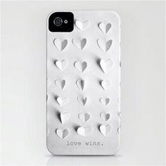 """To know more about Marianne LoMonaco """"love wins."""" iPhone case by , visit Sumally, a social network that gathers together all the wanted things in the world! Featuring over 1 other Marianne LoMonaco items too! Cable Iphone, Iphone 6, Cool Iphone Cases, Cool Cases, Cover Iphone, Ipod Covers, Win Phone, Gadgets, Shopping"""
