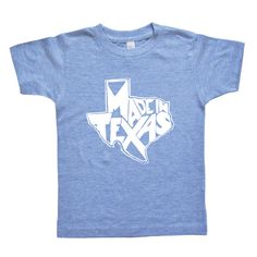 Made In Texas Kids & Youth Shirt  Long Star by VicariousClothing