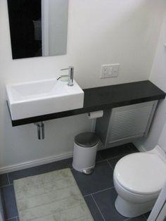Artistic Small Bathroom Vanities Ikea with Rectangular Vessel Sink ...