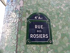 "Rue des Rosiers, Paris ~ Located in the ""Pletzl"", the heart of the Jewish quarter in the Marais... ᘡղbᘠ"