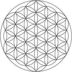 Flower of Life (geometry) - Wikipedia, the free encyclopedia