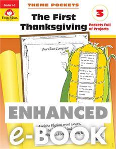 Theme Pockets: First Thanksgiving, Grades 1-3 - E-book: Evan-Moor.com