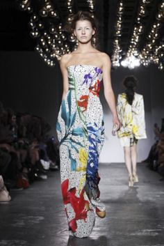 Basso and Brooke @ London Womenswear S/S 2012 Street Girl, Fairy Princesses, Strapless Dress, Women Wear, Collections, London, Film, Digital, Lady