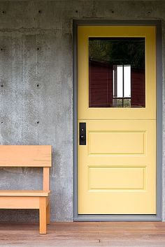 Modern Front Door - Found on Zillow Digs. What do you think?