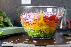 Pickled Vegetable Slaw—so easy to make!