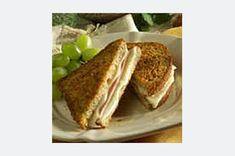 Easy Grilled Ham & Swiss recipe