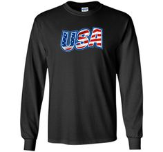 USA American Flag - Independence Day 4th of July T-shirt