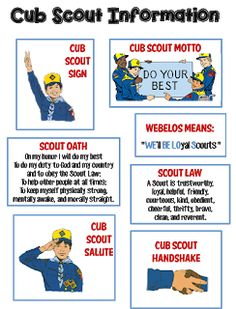 7 years old or grade and Isaac can be a Cub Scout. Strong Armor: Cub Scouts - Scout Oath and Law Helps and Printables Cub Scout Motto, Cub Scout Law, Boy Scout Oath, Cub Scouts Wolf, Tiger Scouts, Scout Mom, Scout Leader, Girl Scouts, Eagle Scout