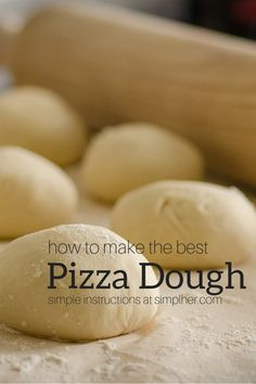 Best Pizza Dough Recipe, Dough Pizza, Large Batch Pizza Dough Recipe, Pizza Dough Recipe All Purpose Flour, Chicago Pizza Dough Recipe, Pizza Dough Recipe Active Dry Yeast, Healthy Pizza Dough, Italian Pizza Dough Recipe, Calzone Recipe