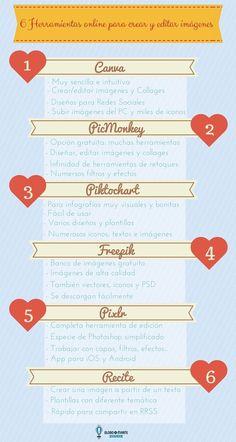 Educación en píldoras: 6 Herramientas Online para Crear Imágenes para tu Blog