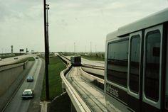 DFW multiple vehicles #podcar #retrotransportation  #advancedtransit