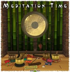 Around The Sims 4: Meditation Time • Sims 4 Downloads