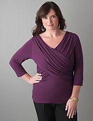 Womens Plus Size Tops, Tees, Cardigans & Blouses | Lane Bryant