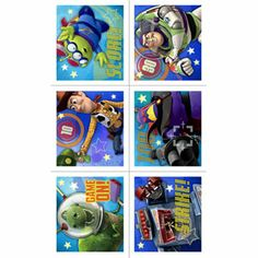 Add our Toy Story Game Time Stickers to your favor bags! Features stickers with Woody, Buzz, Rex, and more. Includes 4 sheets of stickers per package. Toy Story Dolls, Toy Story Game, Loot Bags, Favor Bags, Disney Toys, Baby Shower Themes, 3rd Birthday, Stickers, Baseball Cards