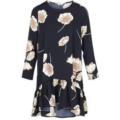 TONJA DRESS AOP 6392 POPPY FLOWER BIG AOP (120 BAM) ❤ liked on Polyvore featuring dresses, blossom dress, poppy flower dress, poppy dress, flower dress and poppy print dress