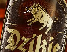 """Check out new work on my @Behance portfolio: """"Dzikie Ale beer concept"""" http://be.net/gallery/43499959/Dzikie-Ale-beer-concept"""