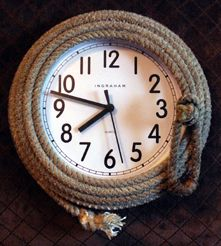 Rope clock!