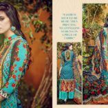 Razia nx at my style store has 5 excellent dresses. It has come with pure lawn digital print. Bottom  has use cotton plazzo. The designer dress has use chiffon with print as dupatta.