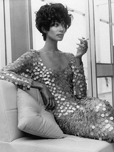 """Supermodel Donayale Luna was one of the world's most beautiful women in the 1960s. Born Peggy Ann Freeman in Detroit, Luna began modeling in 1965 and within months, an article in Time magazine declared 1966 to be """"The Luna Year."""" She was the first black model to appear on the cover of British Vogue, was a muse to legendary photographers like Richard Avedon and David Bailey, and vamped through several Warhol and Fellini films."""