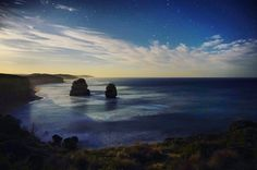 Shooting long exposure by myself in the enveloping darkness of the night was one of the most relaxing things I've done in a while.  _____________________________________________  #melbourne #australia #night #nightime #12apostles #longexposure #roadtrip #astro #astrophotography #stars #explorer #adventure #cloud #sunrise #sunset #ourlonelyplanet #travel #australia_journey #peaceful by feiyangp http://ift.tt/1ijk11S