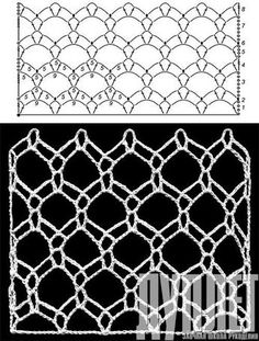 I'm seeing mesh hip scarves in the future. Crochet Diagram, Crochet Chart, Filet Crochet, Irish Crochet, Crochet Motif, Crochet Lace, Crochet Stitches Patterns, Lace Patterns, Knitting Stitches