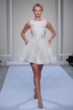 Pin for Later: Bridal Fashion Week's Most Unusual and Unexpected Wedding Dresses Dennis Basso For Kleinfeld