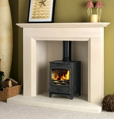 Log Burner Fireplace On Pinterest Wood Burner Fireplace