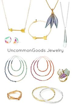 UncommonGoods Handmade Jewelry Collection
