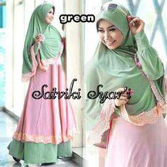 busana muslim amanda green