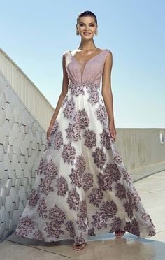 2020 Women Fashion pink floral cocktail dress floral mother of the groom dresses Mob Dresses, Formal Dresses, Wedding Dresses, Pink Fashion, Fashion Dresses, Womens Fashion, Elegant Dresses, Beautiful Dresses, Groom Dress