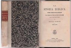 VOL. 4 SECONDO BIAMONTI LA STORIA BIBLICA STUDIO STORICO CRITICO 1885 SALESIANI