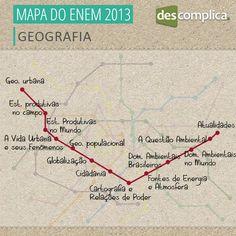 Tudo que você precisa saber pem Geografia para arrasar no ENEM! Clique na imagem para acessar os conteúdos em vídeo.