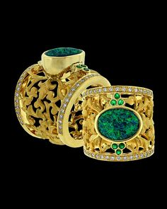 opal ring by Paula Crevoshay