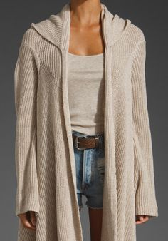 BRANDY MELVILLE Lina Hooded Sweater