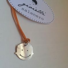 want to wear your child? silver handmade jewellery / your son and daughter in silver pendant / by salenero.com