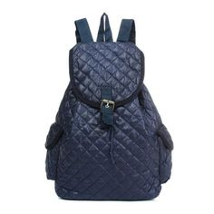 Women Nylon Casual Vintage School Travel Outdoor Backpack