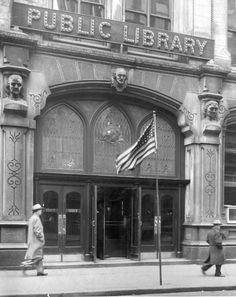 Main Library Entrance by Public Library of Cincinnati & Hamilton County on Flickr