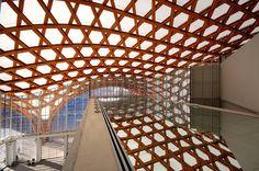 design-dautore.com: Centre Pompidou-Metz France. Shigeru Ban Architects.