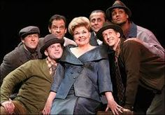 """Debra Monk and the cast of """"Curtains"""""""