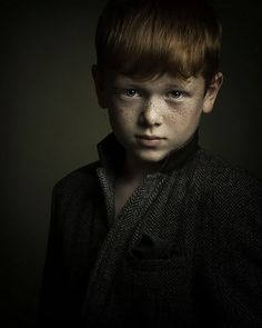 "child portrait , boy , redhead , ginger - ""Kieran.."" by Steve Clee"