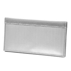 Checkbook Cover Silver now featured on Fab.